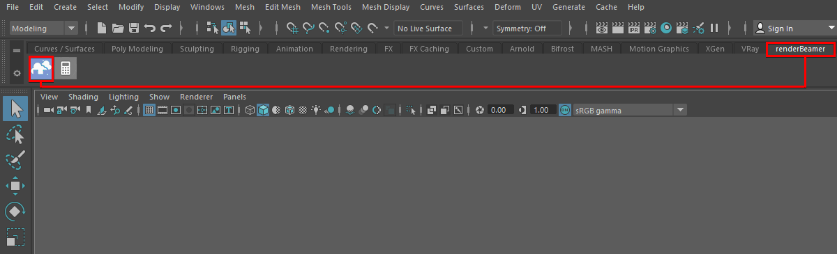 renderBeamer plugin from Maya interface