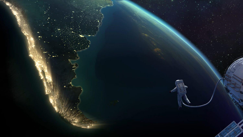 Banco De Chili Spot Earth from Space