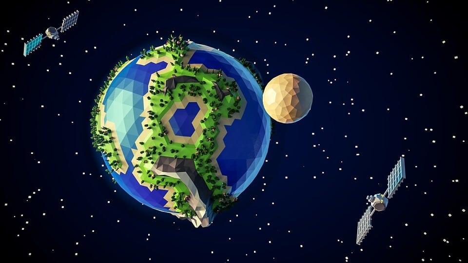 Polygonal Earth