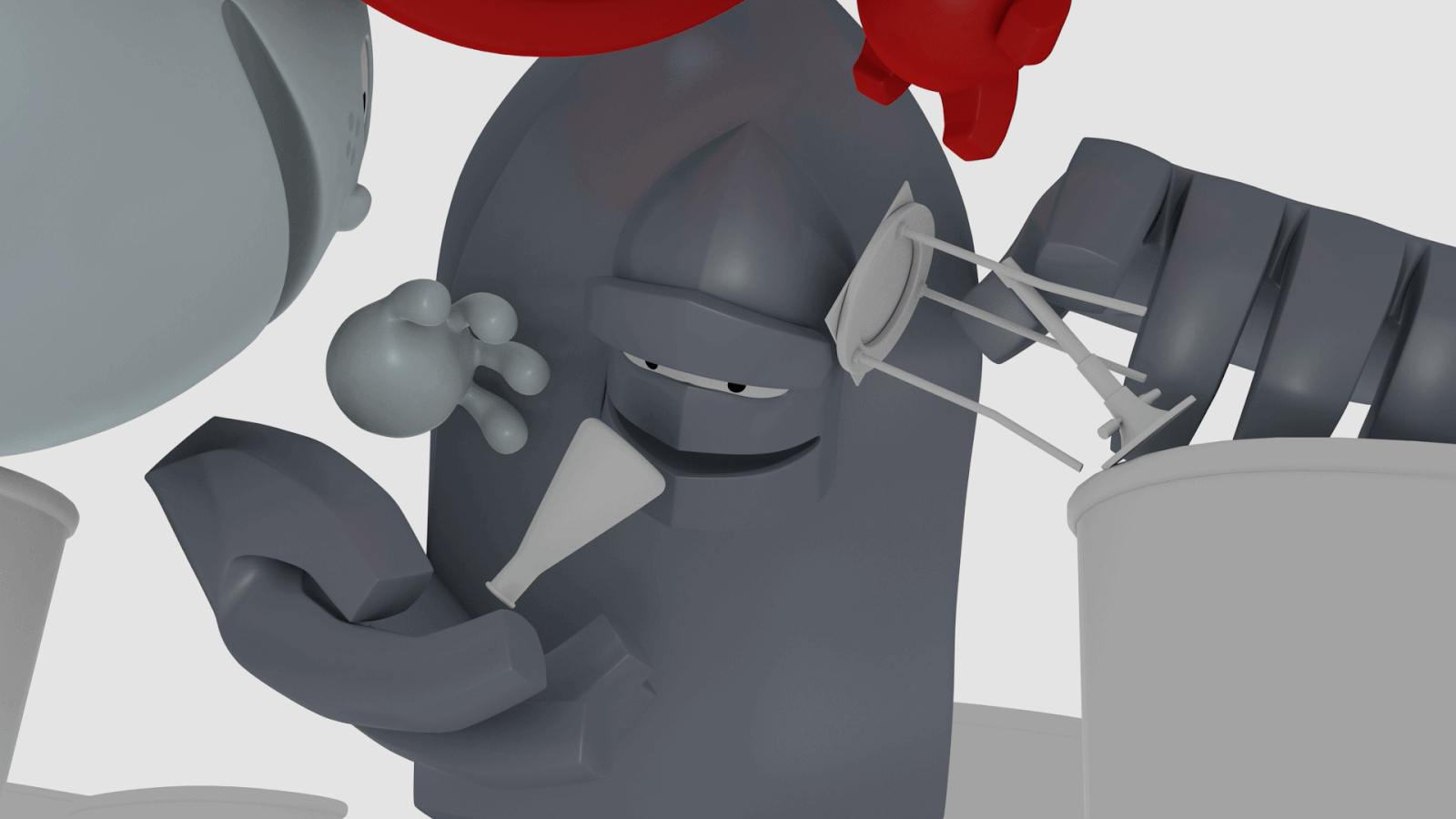 Iron Catch Animation