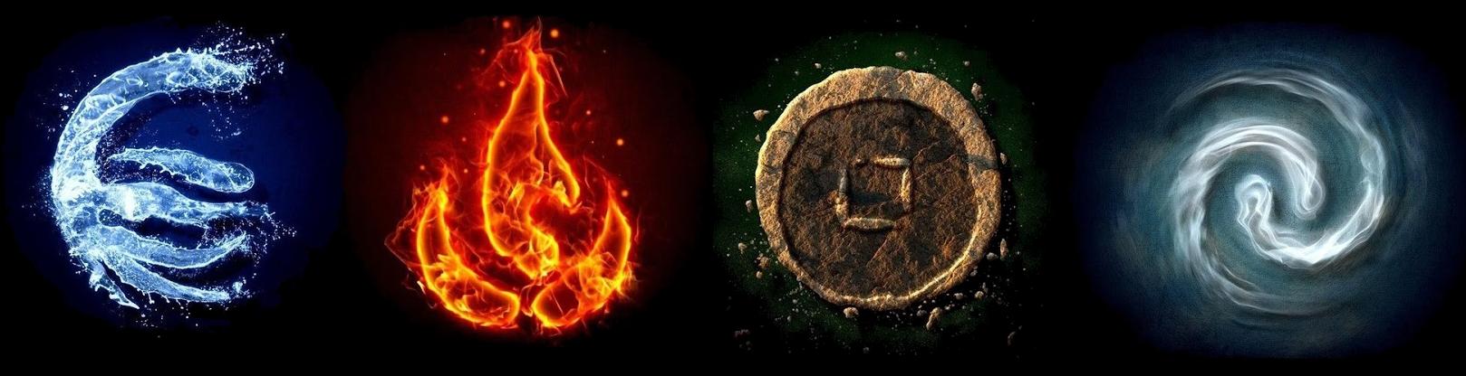 Avatars of four elements