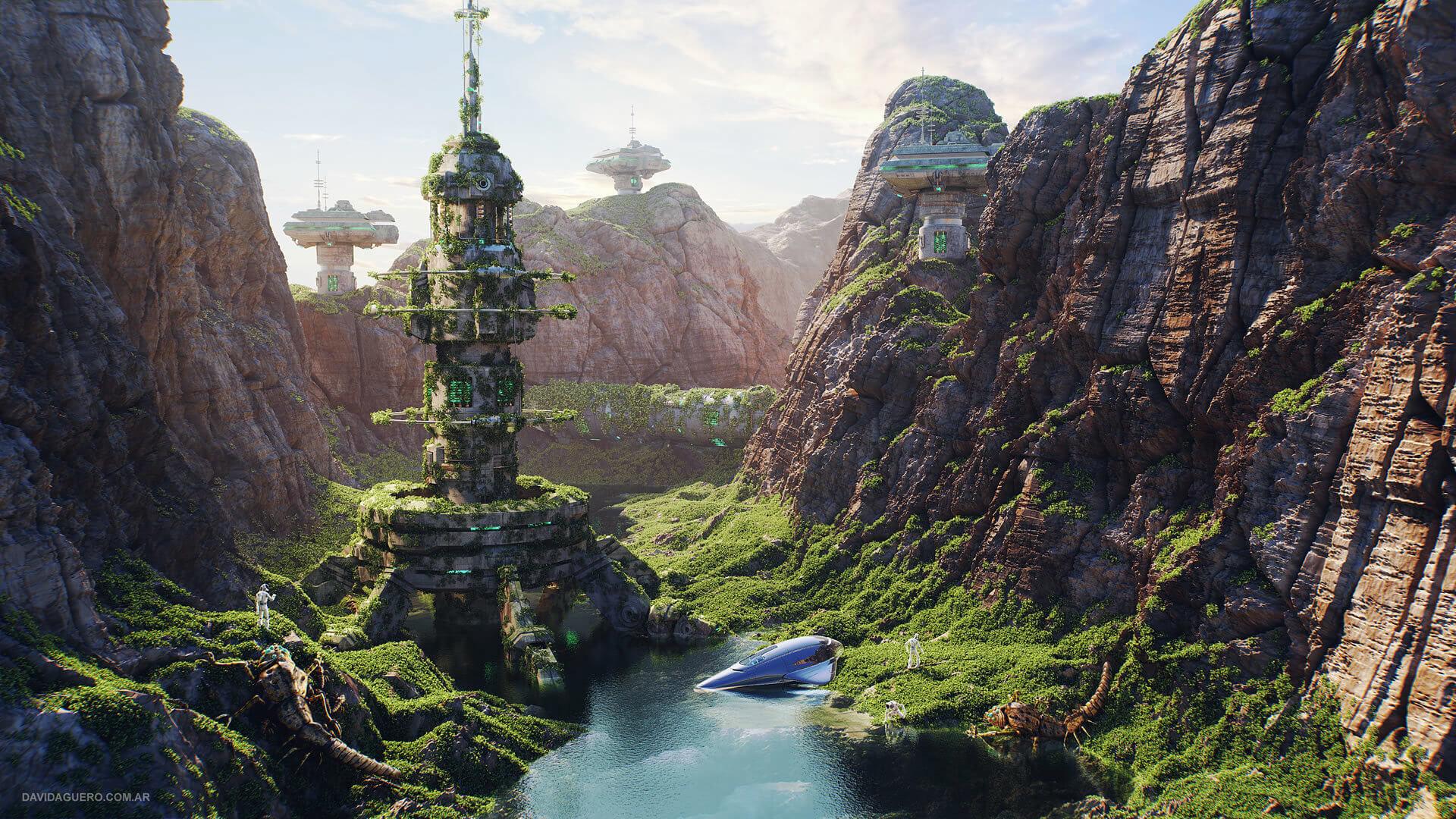 David Aguero - 'Alien Valley'