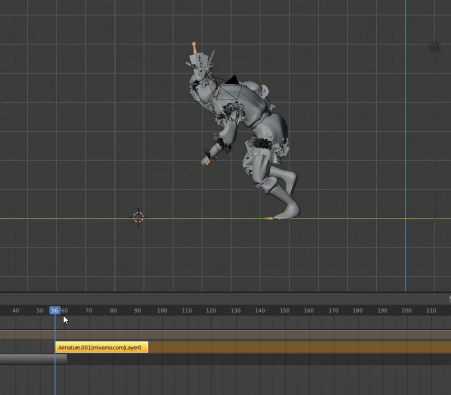 common problem in importing mocap data