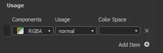 Set the usage type to normal