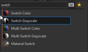 switch grayscale node