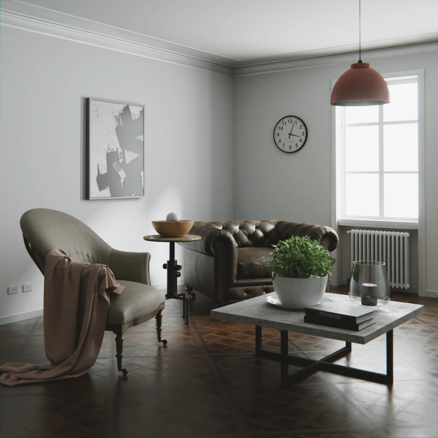 3D Rendering of Furniture using Blender