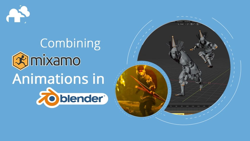 Creating Mixamo animations with Blender