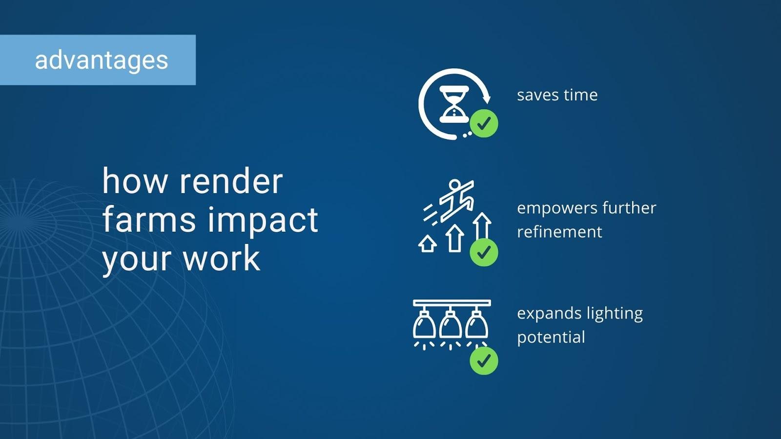 Benefits of render farm