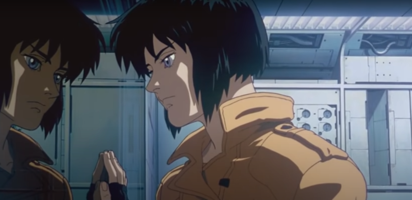 Two-toned lighting in Ghost In The Shell