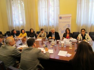 Sastanak RG Regionalna politika i koordinacija strukturnih instrumenata, 6. oktobar 2014.