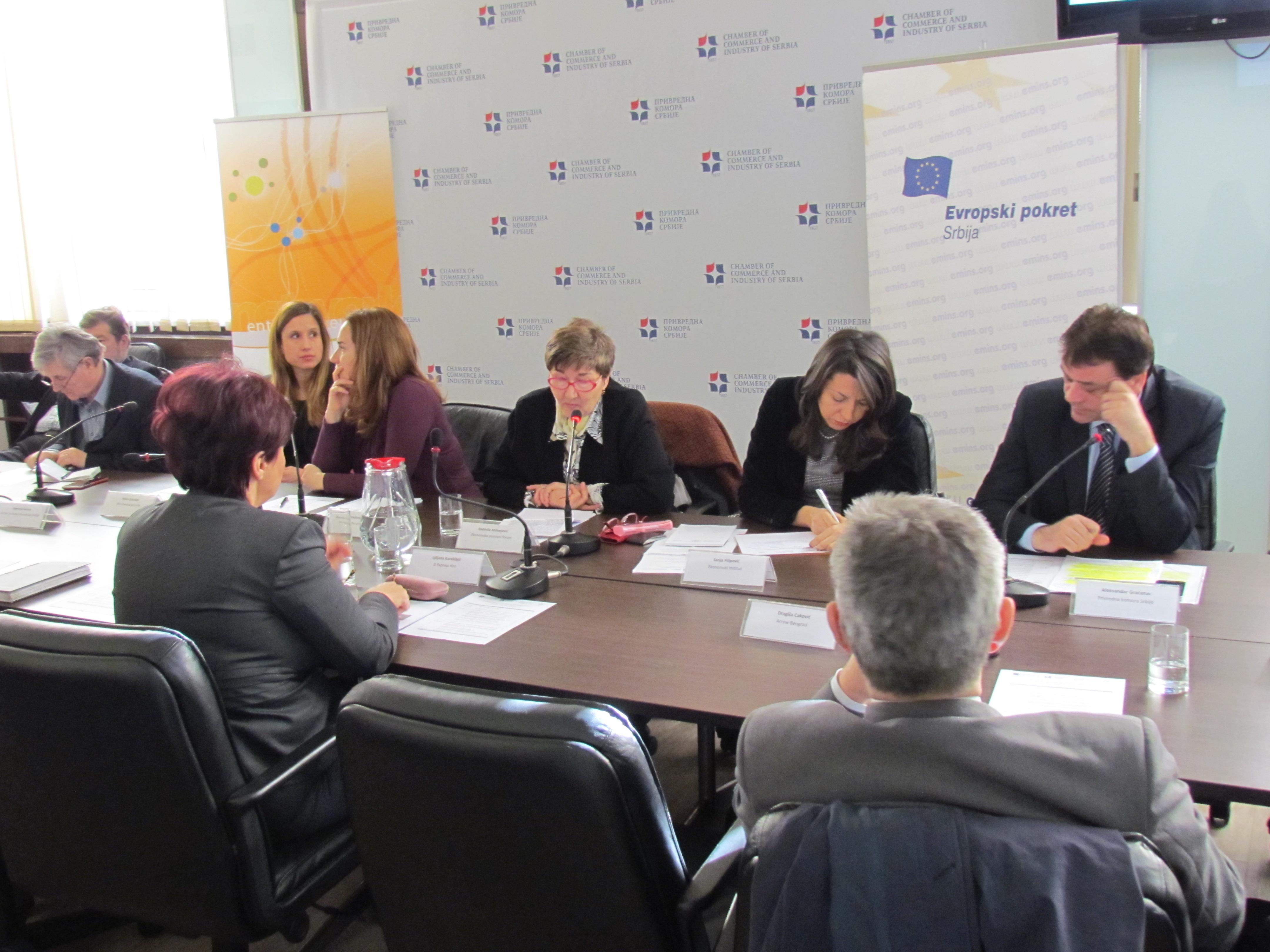 Preduzetništvo i unapređenje konkurentnosti malih i srednjih preduzeća u Srbiji