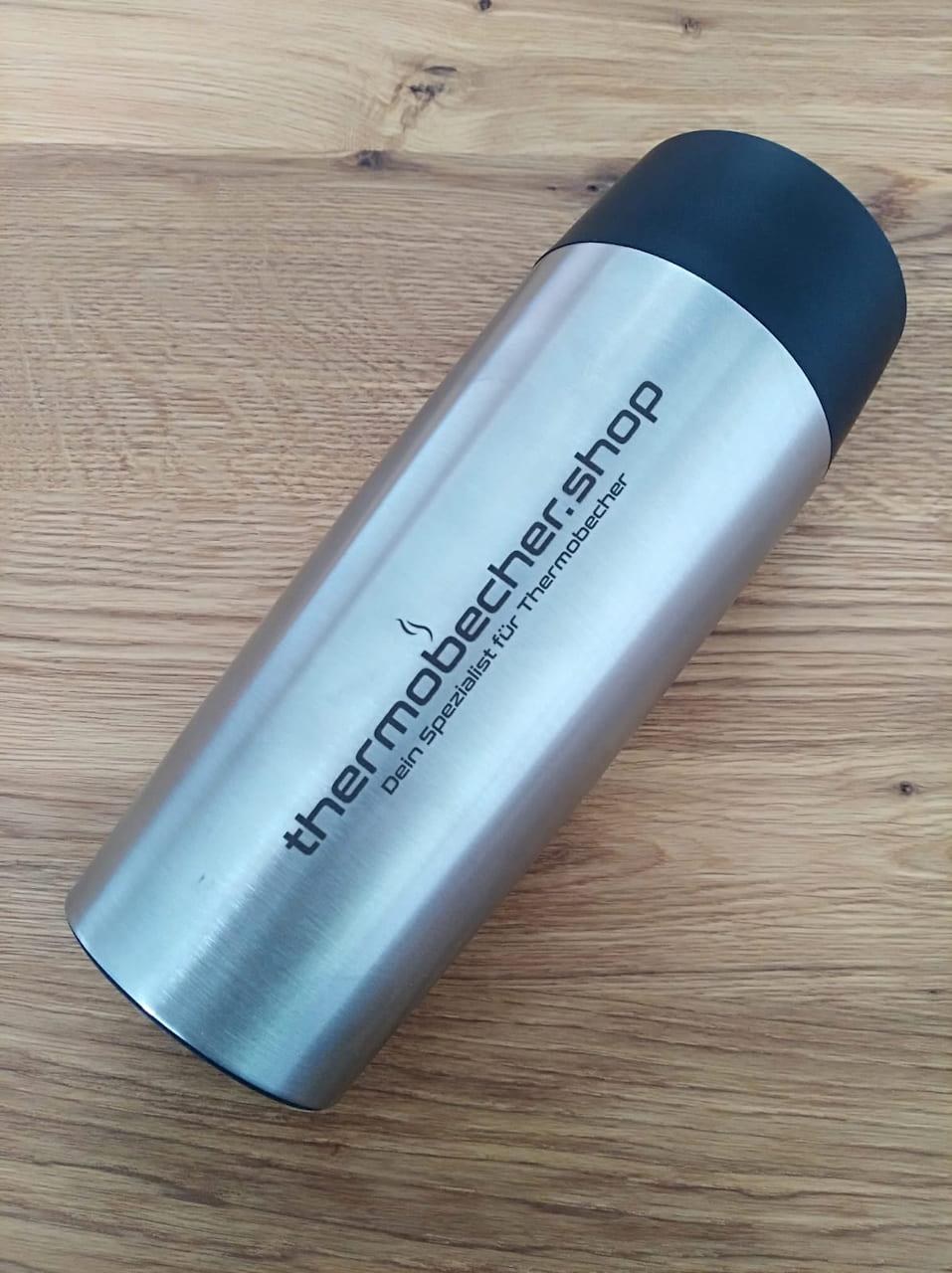 thermobecher.shop Lasergravur auf Edelstahl Thermobecher