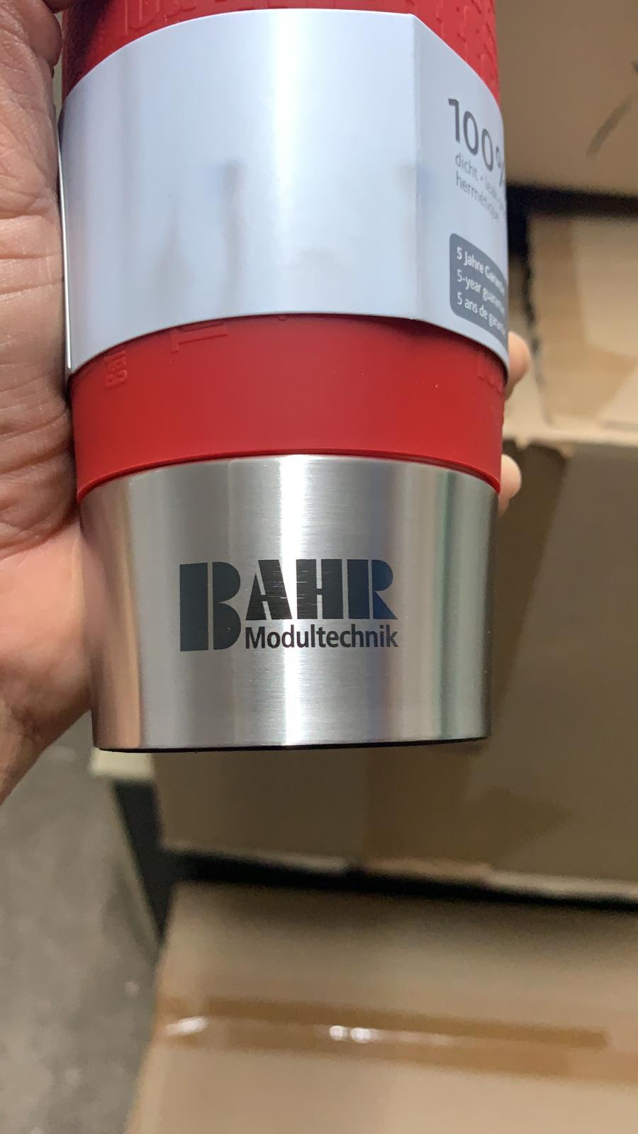 Emsa Travel Mug rot graviert mit Logo als Werbemittel