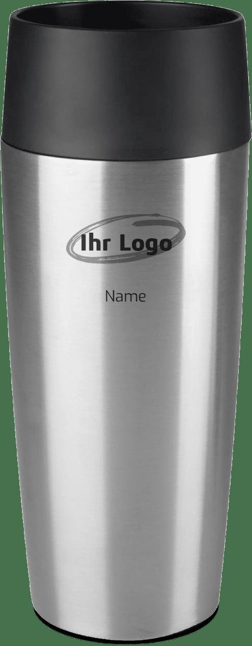 Emsa Thermobecher mit Logo branding Gravur Druck
