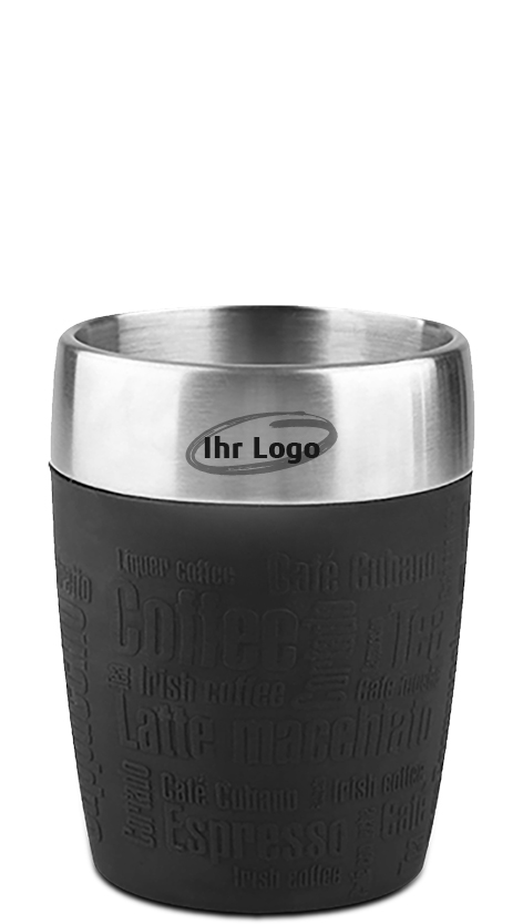 Emsa Travel Cup, 200ml, Farbe schwarz
