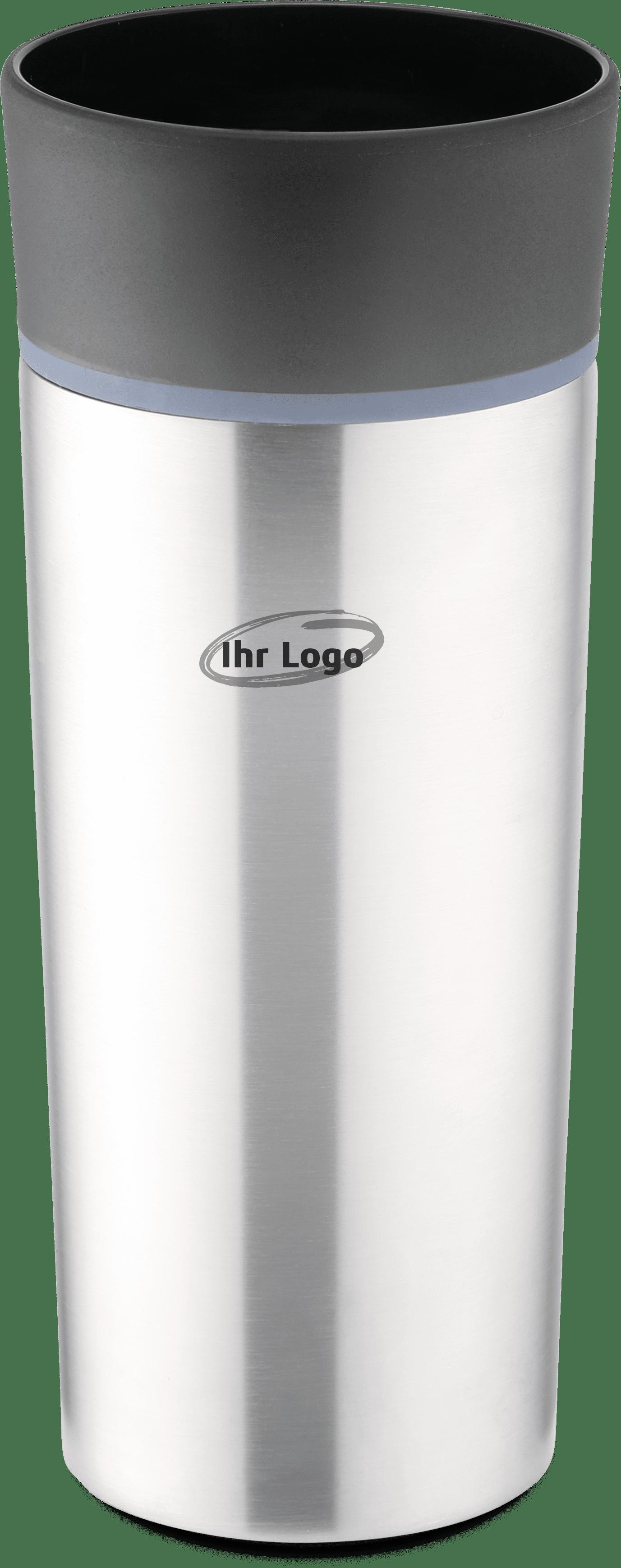 Edelstahl Isolierbecher personalisiert mit Aufdruck