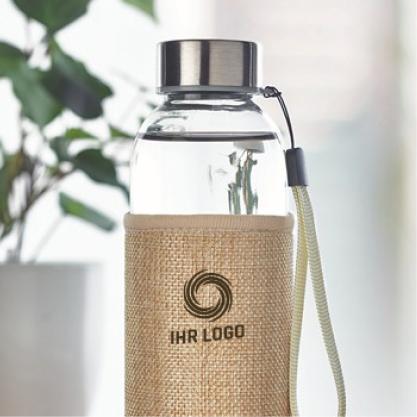 Wasserflasche bedrucken lassen mit Logo