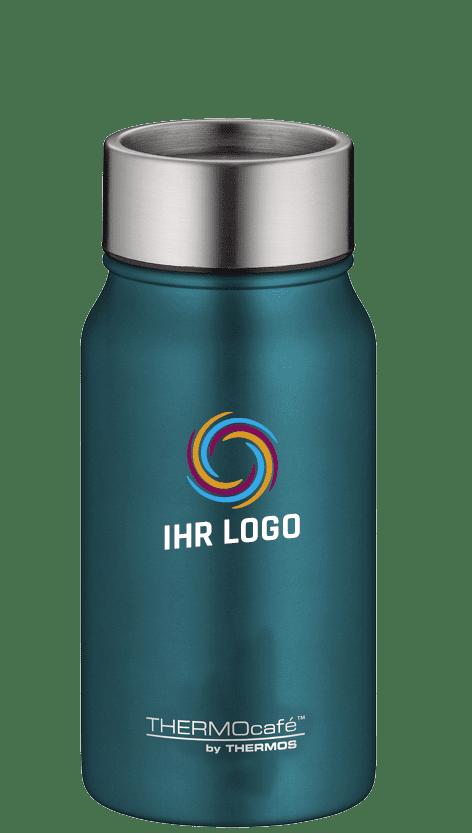 Individueller Thermobecher mit Logo graviert