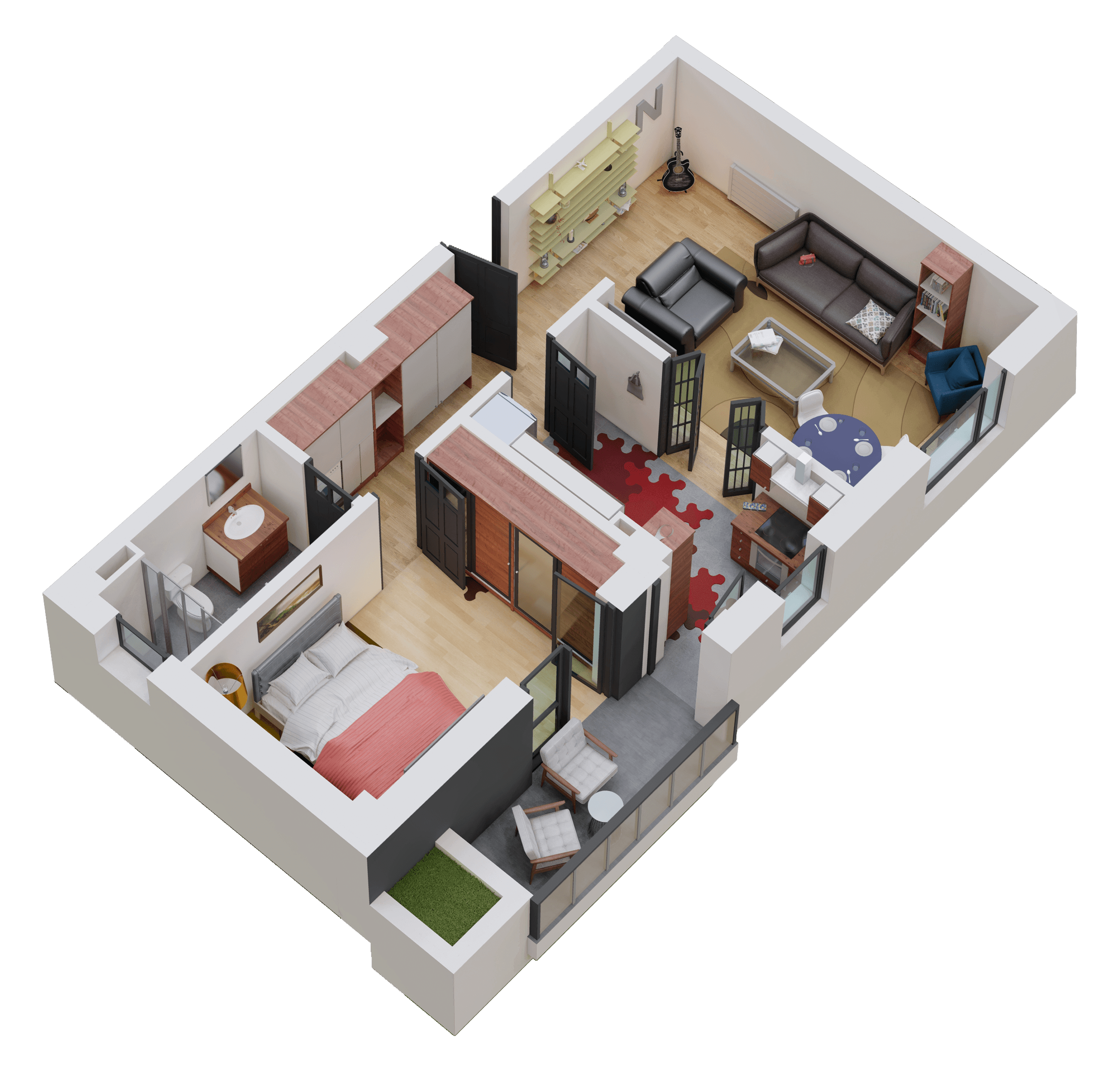 Apartament tip 05