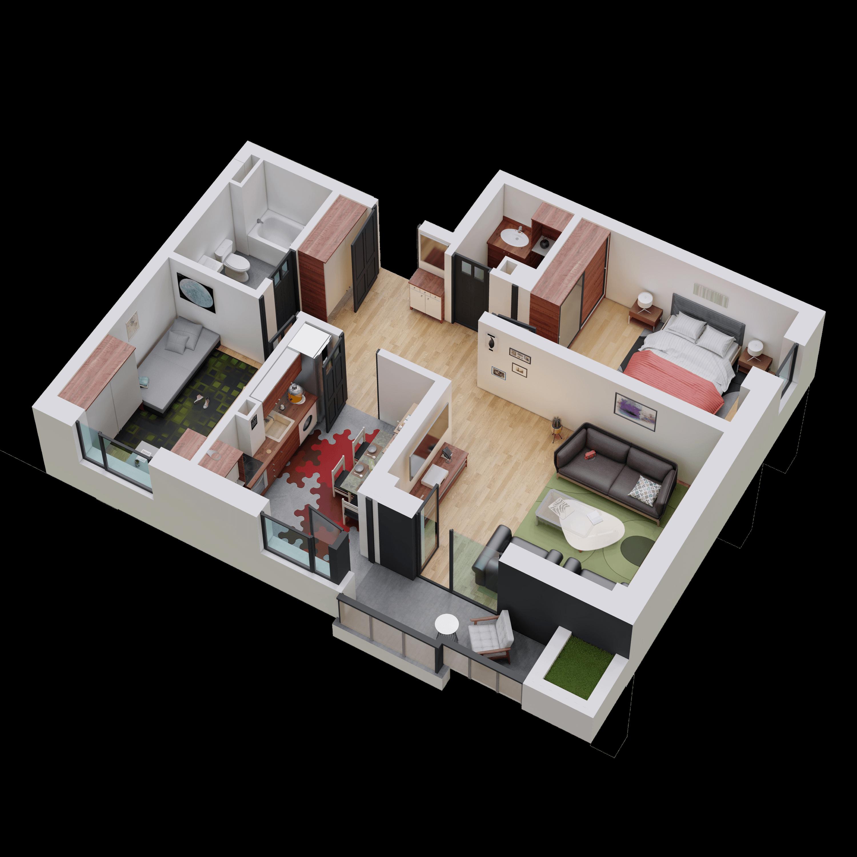 Apartament tip 07