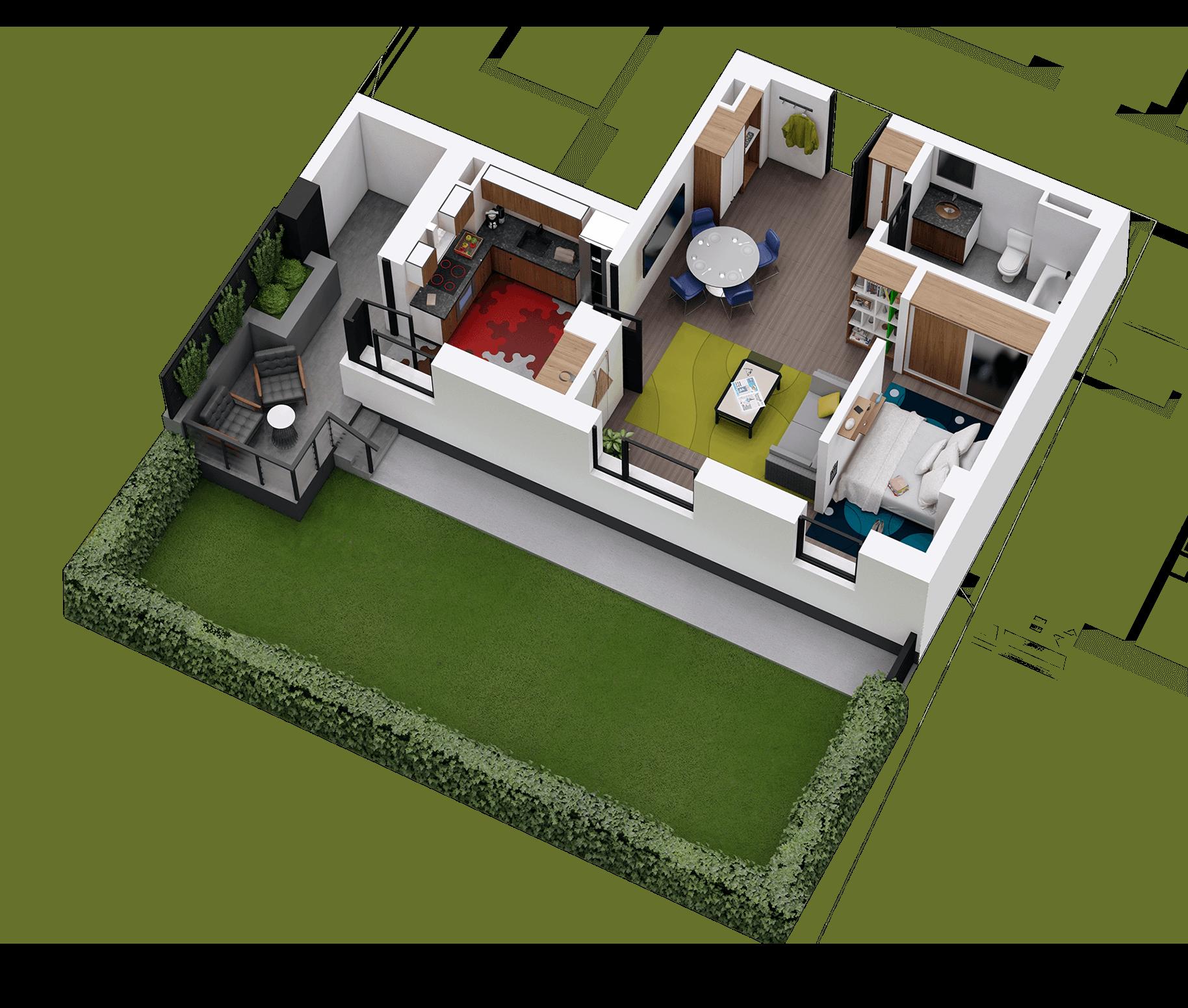 Apartament tip 04