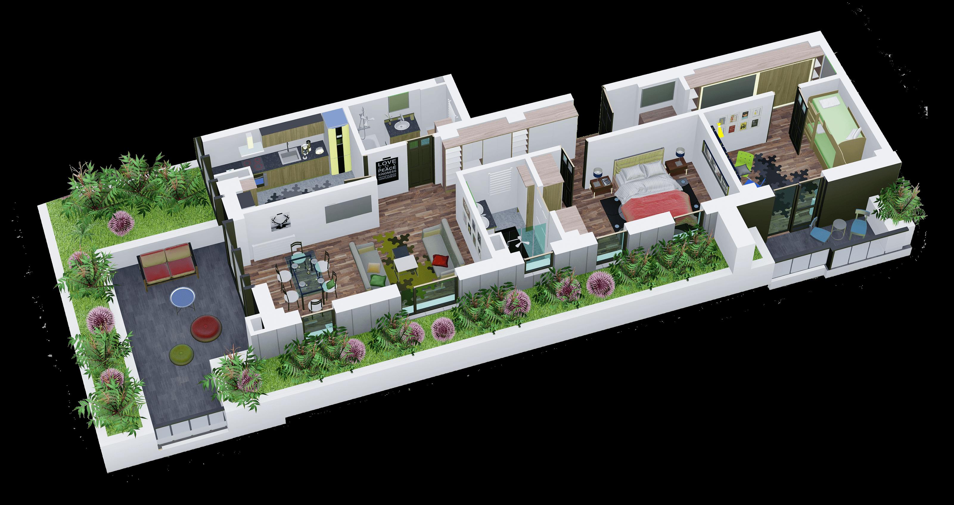 Apartament tip 19