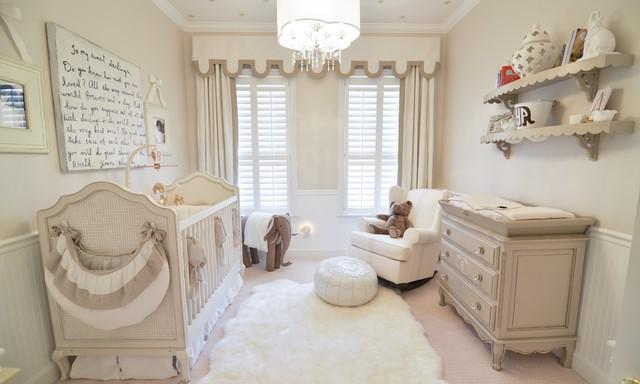 Transitional Nursery Design | Laurel & Wolf