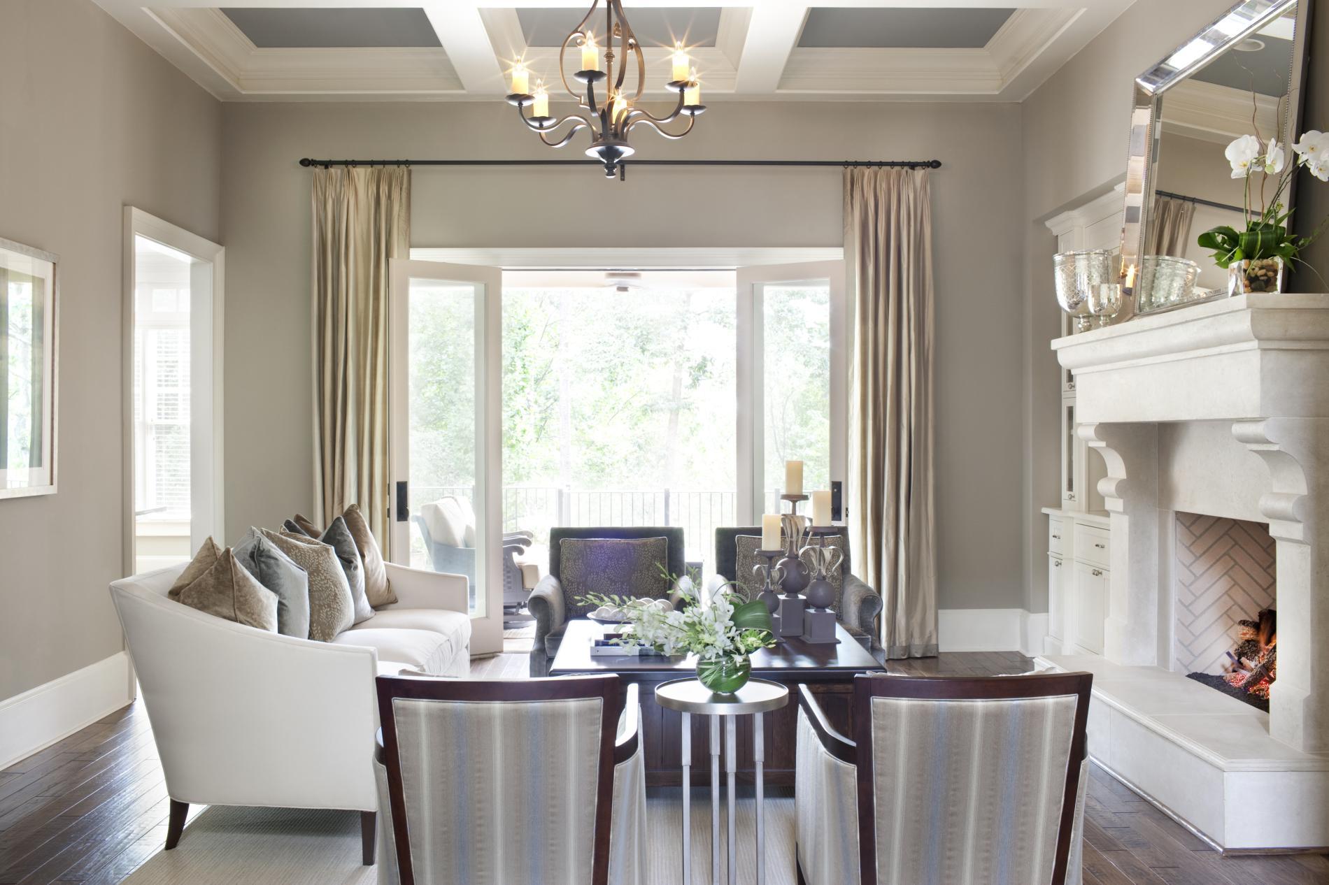 Transitional Living Room Design | Laurel & Wolf