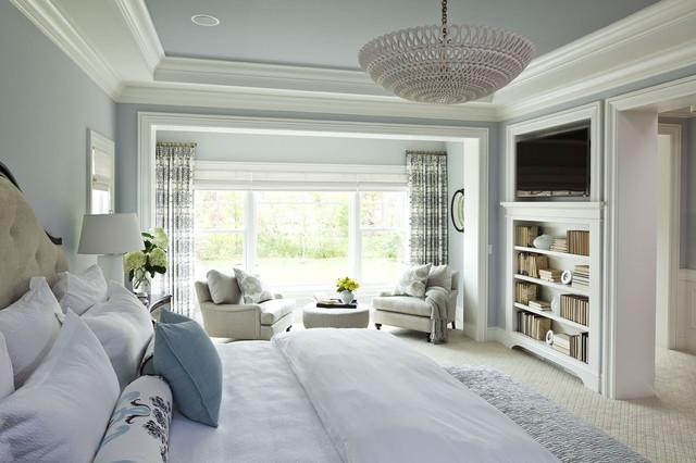 Transitional Bedroom Design | Laurel & Wolf