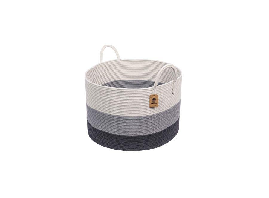 INDRESSME XXXLarge Woven Rope Basket