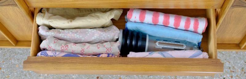 Bathmate Hydromax penis pump fits inside dresser drawer