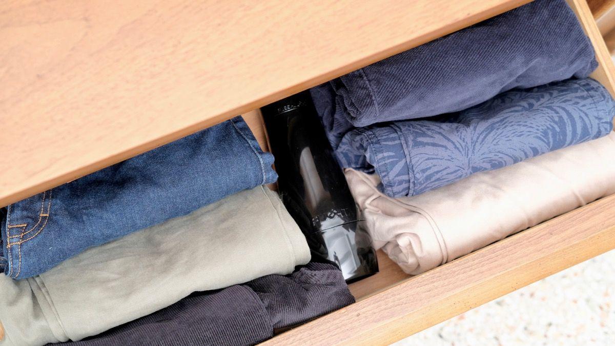 Fleshlight Flight storage options in dresser drawer