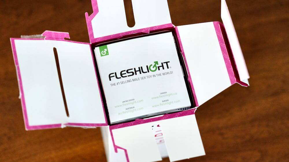 Opening Fleshlight box