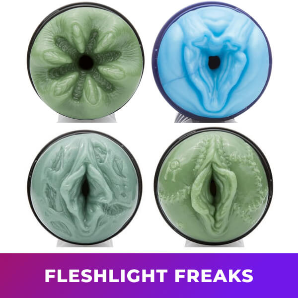 Fleshlight Freaks Cyborg Alien Frankenstein Monster Yeti Bigfoot Grim Reaper