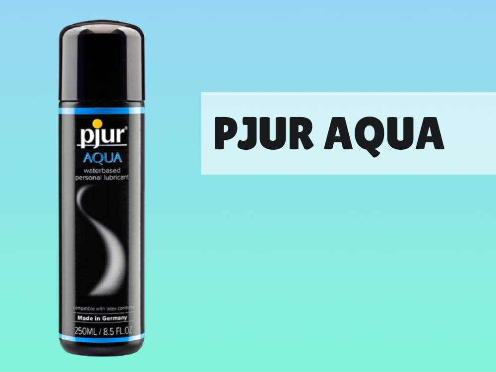 Pjur Aqua Water-Based Fleshlight Lube Review