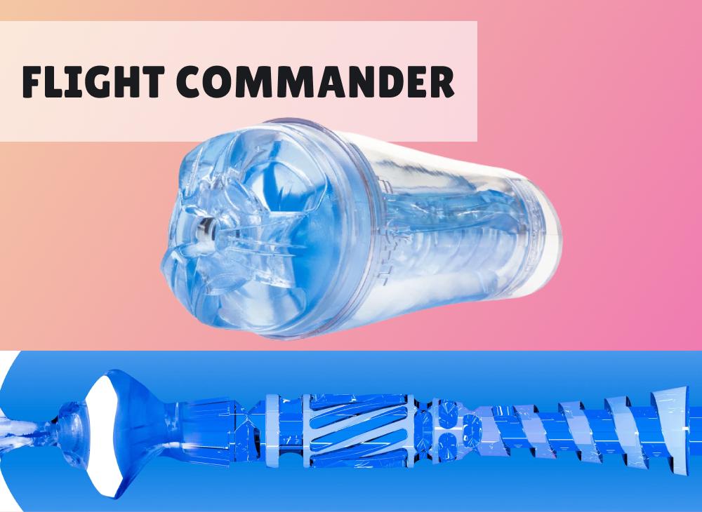 Fleshlight Flight Commander Blue Ice