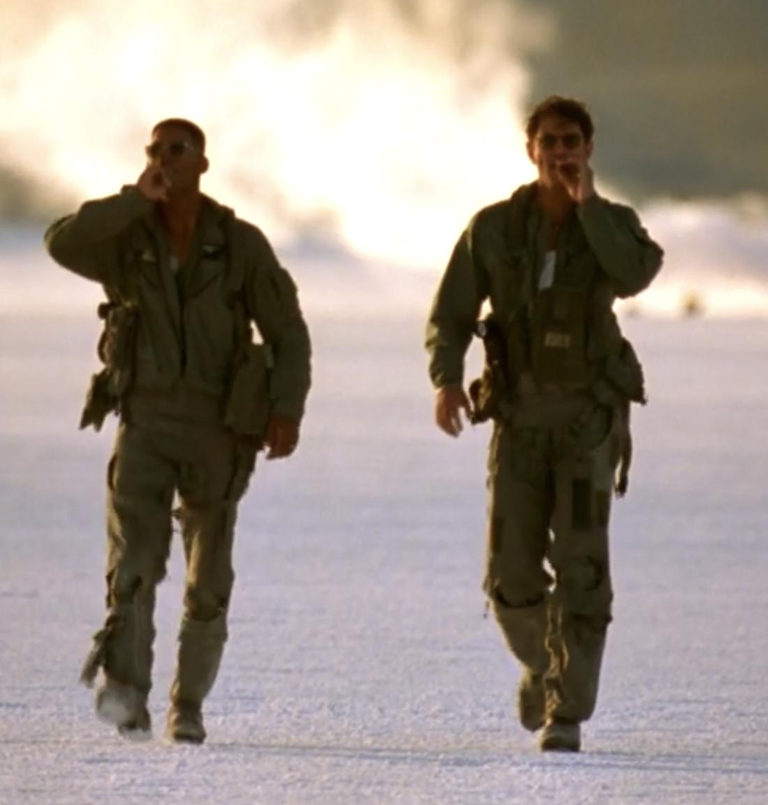 Independence Day Will Smith Jeff Goldblum final scene walk off