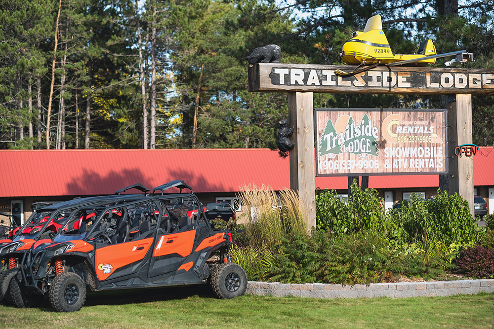 ATV's for rent at Copper Country Rentals in Calumet MIchigan