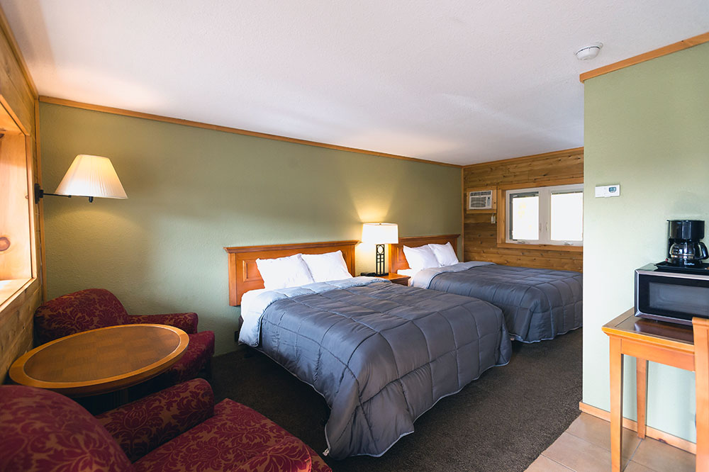 trailside lodge double queen room