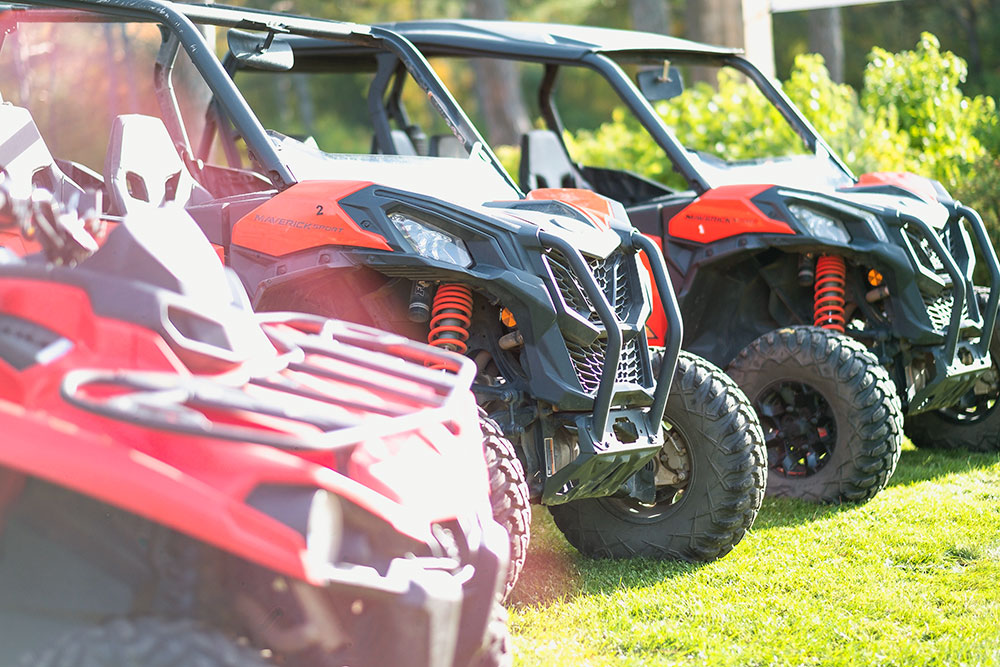 ATV's for rent at Copper Country Rentals in Calumet MIchigan