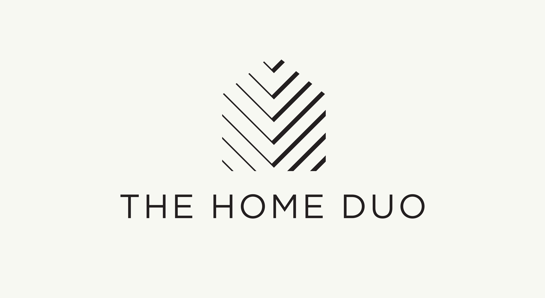 House shaped logo for home renovation blog