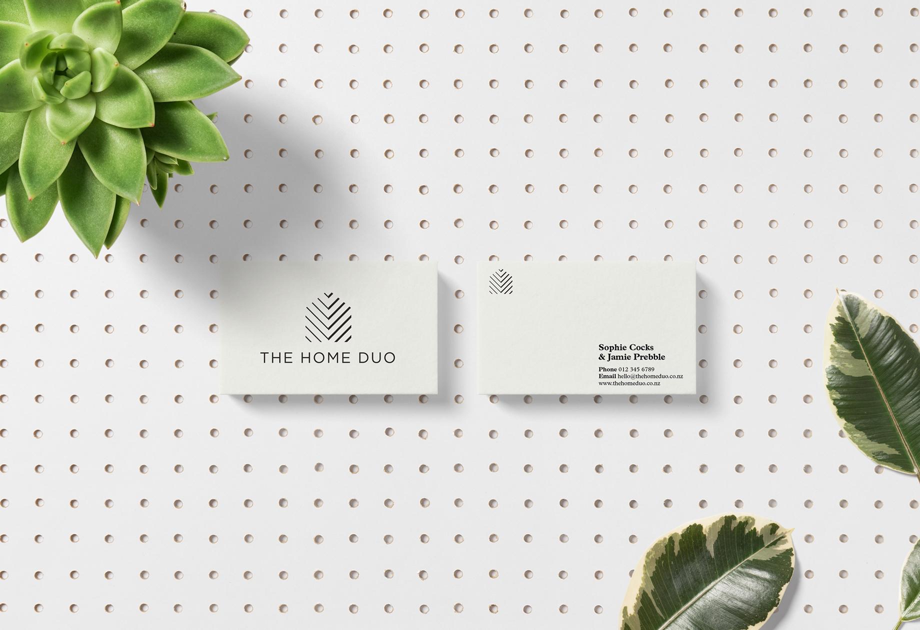 Business cards for home renovation blog