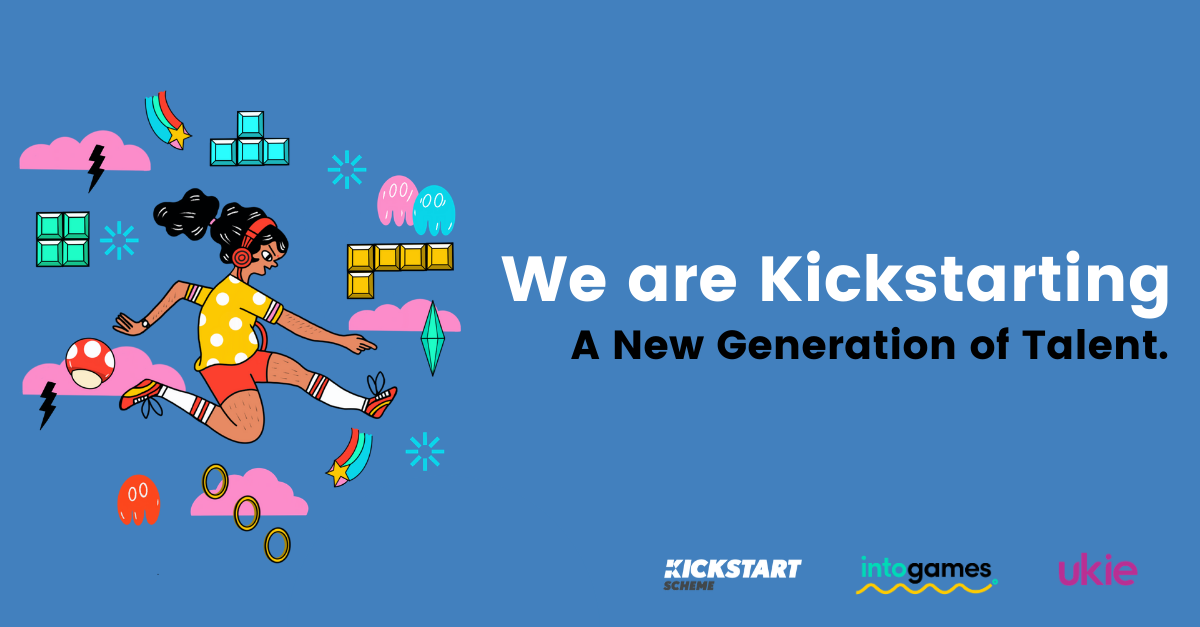 """Banner that states """"we are kickstarting the next generation""""."""