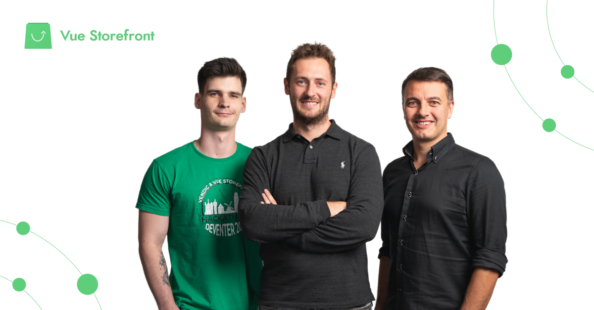 Vue Storefront raises $1.5M to turn the fastest growing open source eCommerce project into a business