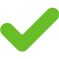 Green icon checkmark