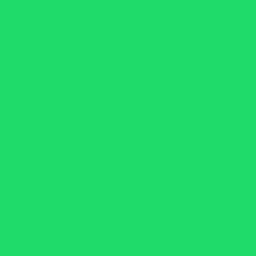 Green icon paper plane image