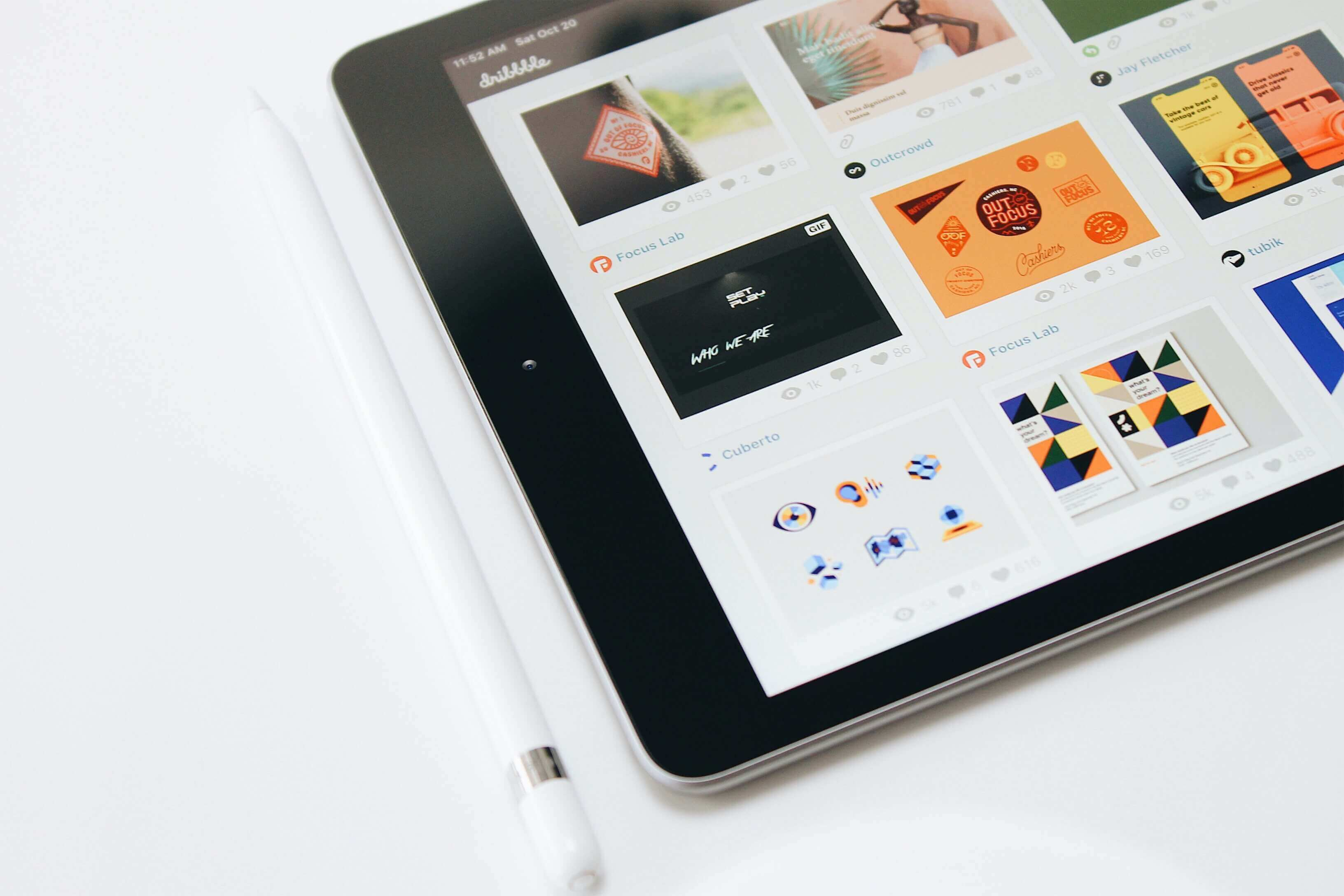 iPad on Desk