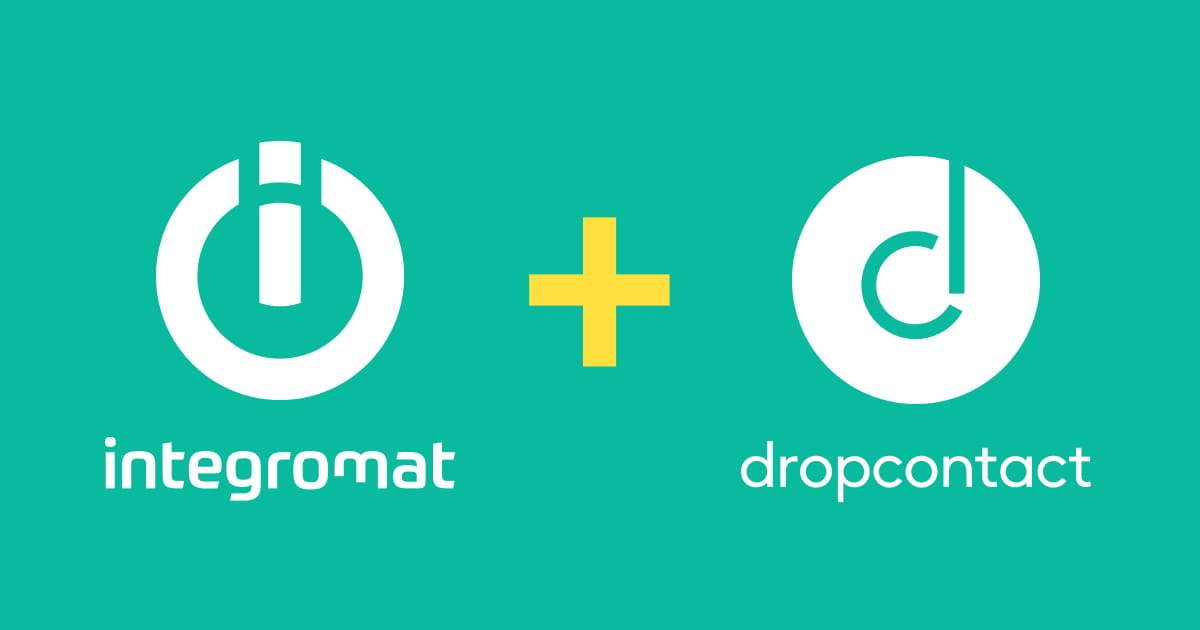 Dropcontact and Integromat - Workflow email enrichment