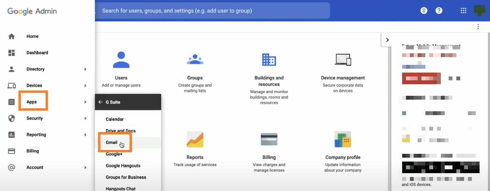 Creation DKIM G Suite