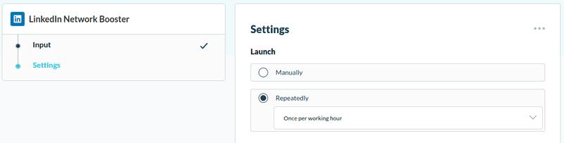 Automatically send LinkedIn invitations